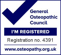 General Osteopathic Council Registered